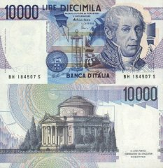 10,000 Lire Italy's Banknote