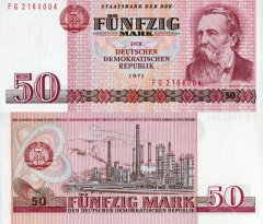 50 Mark der DDR Germany/Democratic Republic's Banknote