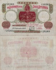 100 Dollars Straits Settlements's Banknote