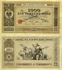 Germany 1,000 Mark Banknote, 1876, P-11