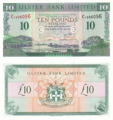 Ireland/Northern 10 Pounds Sterling Banknote, 1999, P-336b