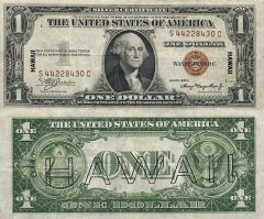 1 Dollar Hawaii's Banknote