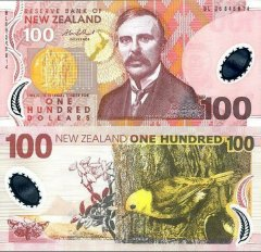 New Zealand 100 Dollars Banknote, 2006, P-189b.2