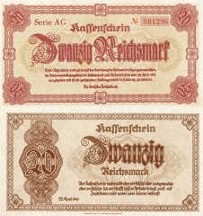 20 Mark Germany's Banknote