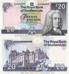 20 Pounds Sterling Scotland's Banknote