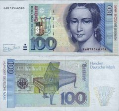 Germany/Federal Republic 100 Deutsche Mark Banknote, 1996, P-46r