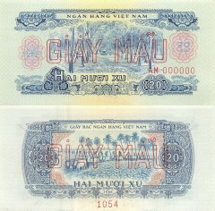 20 Xu Vietnam/South's Banknote