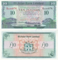 10 Pounds Sterling Ireland/Northern's Banknote