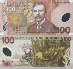 New Zealand 100 Dollars Banknote, 2000, P-189a.2