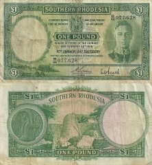 1 Pound South West Africa's Banknote