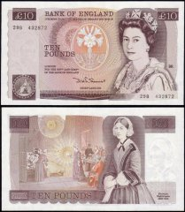 Great Britain/England 10 Pounds Banknote, 1980, P-379b