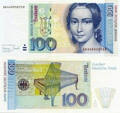 Germany/Federal Republic 100 Deutsche Mark Banknote, 1996, P-46x.2