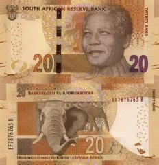 South Africa 20 Rand Banknote, 2014, P-139a
