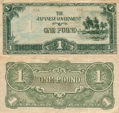 1 Pound Oceania's Banknote