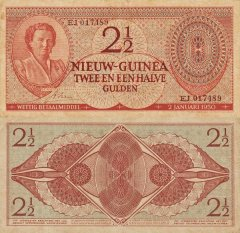 2½ Gulden Netherlands New Guinea's Banknote