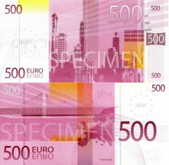Fantasy Issues 500 Euro Banknote, ND, P-AFIBEL-500