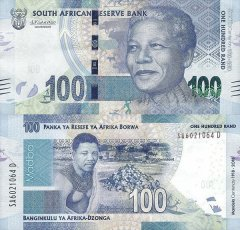 South Africa 100 Rand Banknote, 2018, P-146a