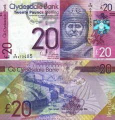 20 Pounds Scotland's Banknote