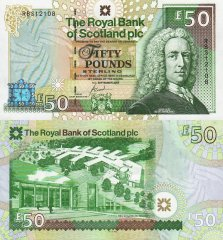 Scotland 50 Pounds Banknote, 2005, P-366