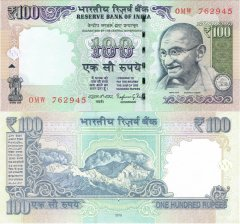 100 India's Banknote