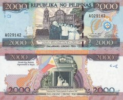 2000 Piso Philippines's Banknote