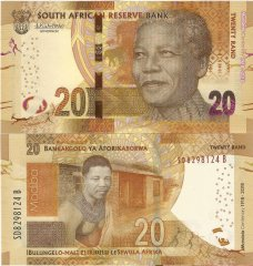 South Africa 20 Rand Banknote, 2018, P-144