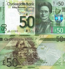 50 Pounds Scotland's Banknote