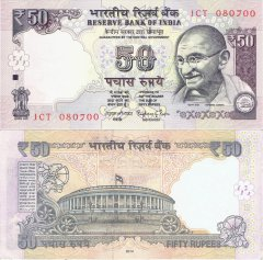 50 India's Banknote