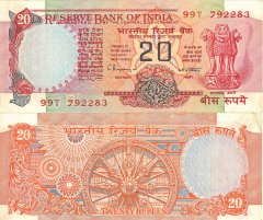 20 India's Banknote