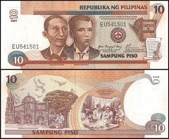 10 Piso Philippines's Banknote