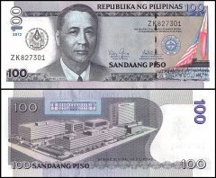 Philippines 100 Pesos Banknote, 2012, P-213A