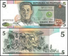 5 Piso Philippines's Banknote