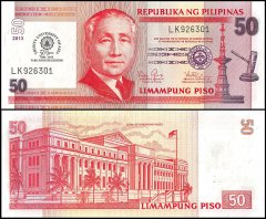 50 Pesos Philippines's Banknote