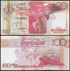100 Rupees Seychelles's Banknote
