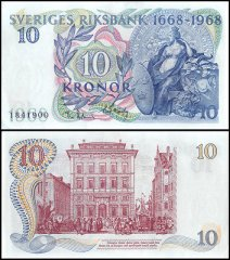10 Kronor Sweden's Banknote