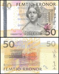 50 Kronor Sweden's Banknote