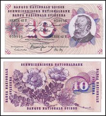 10 Franken Switzerland's Banknote
