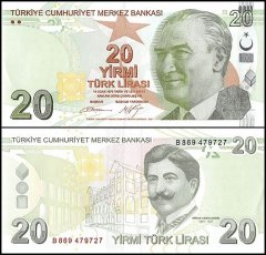 20 Lira Turkey's Banknote