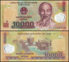 10,000 Dong Vietnam's Banknote