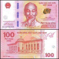 100 Dong Vietnam's Banknote