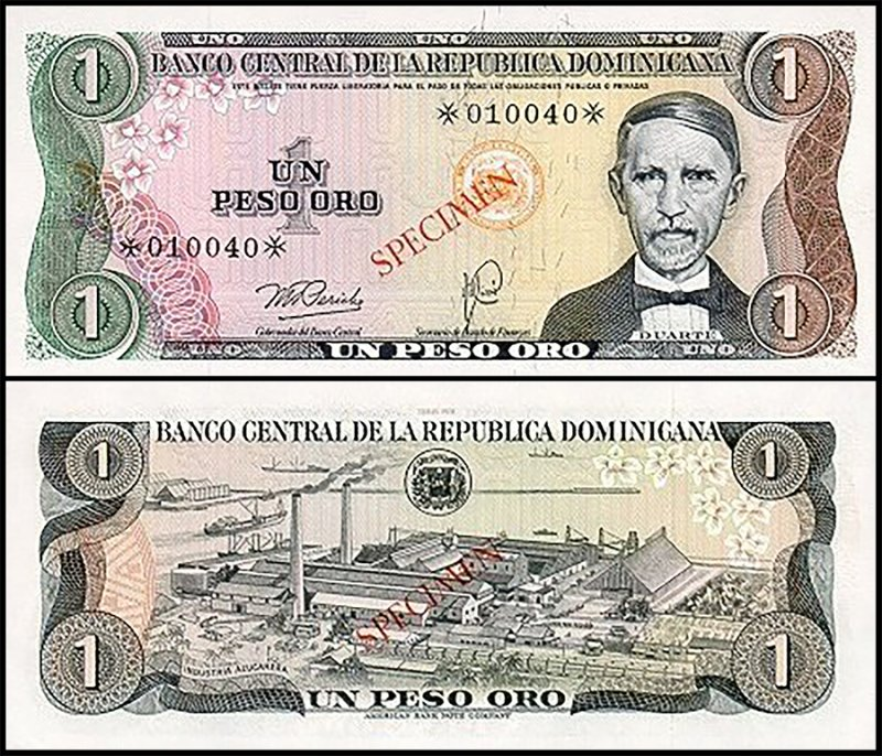 Dominican Republic 1 Peso, 1978, P-CS4a