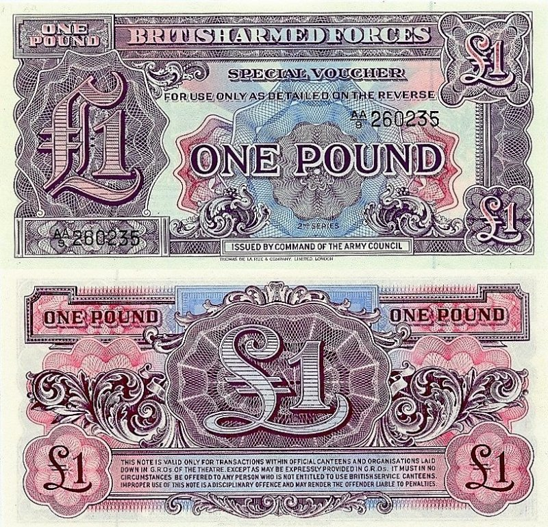 1 Pound Great Britain/England's Banknote