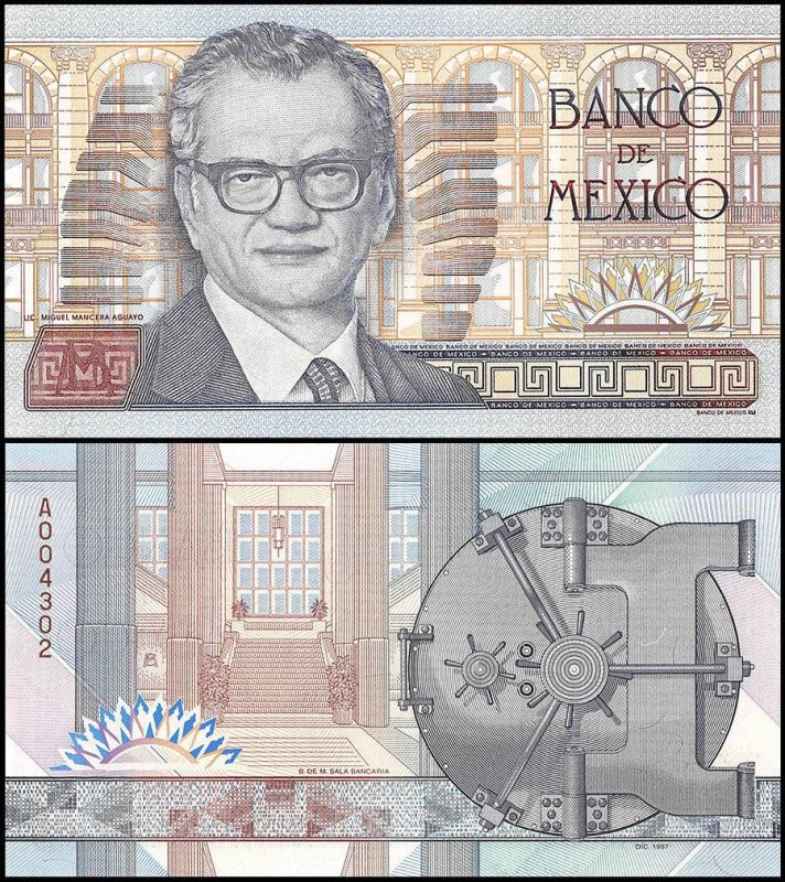 Mexico Mexico Test Note Banknote, ND, P-PNL