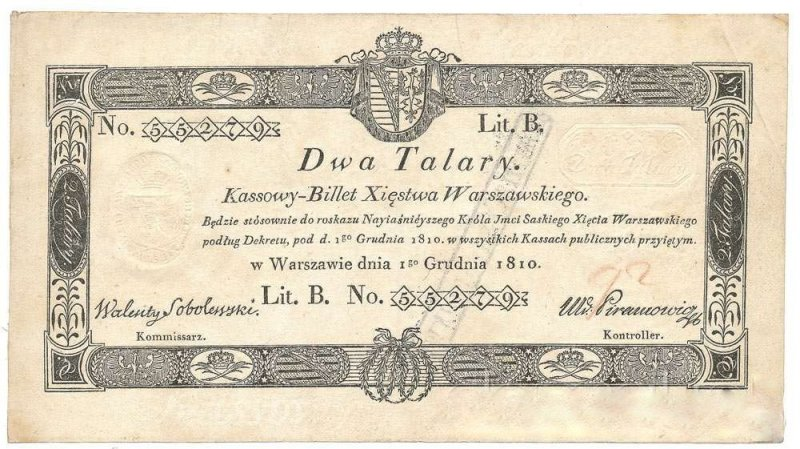 2 Talary Poland's Banknote