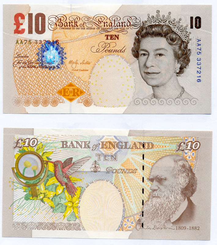 10 Pounds Great Britain/England's Banknote