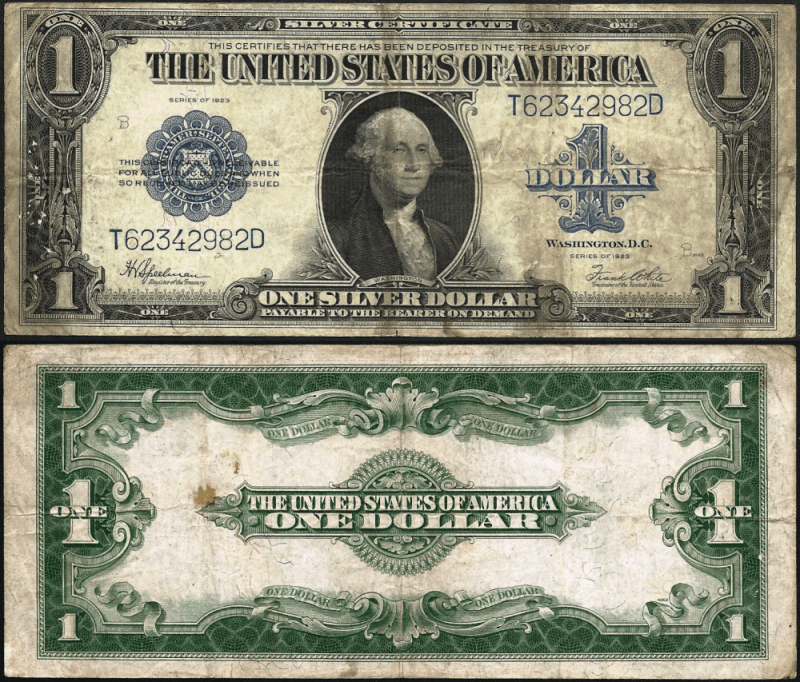 1 Dollar United States's Banknote