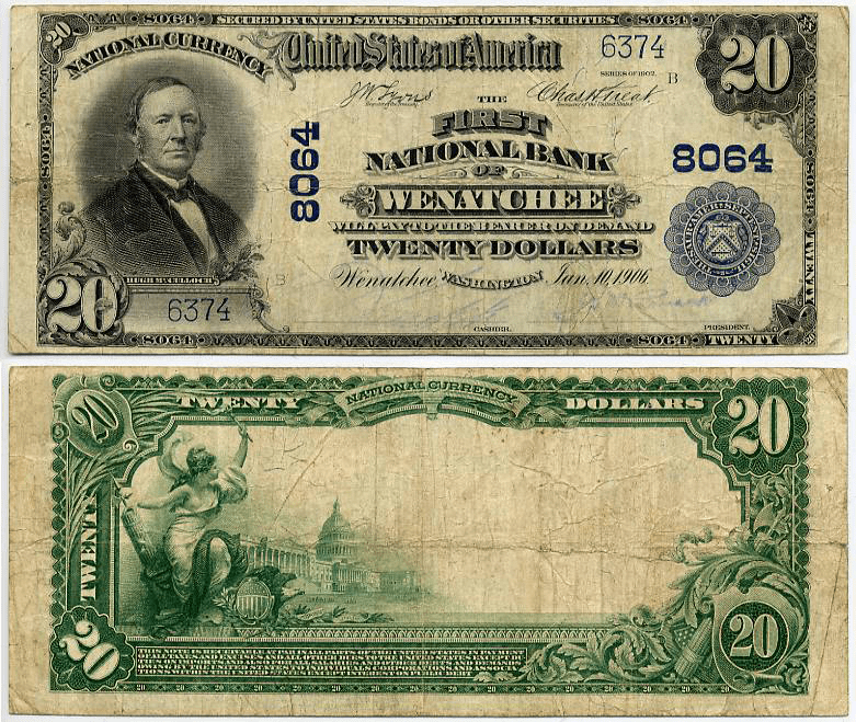 United States 20 Dollars Banknote, 1902, P-676