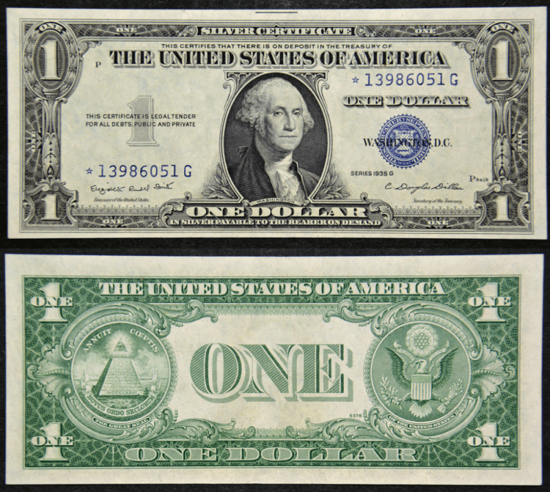 United States 1 Dollar Banknote, 1935, P-416NM