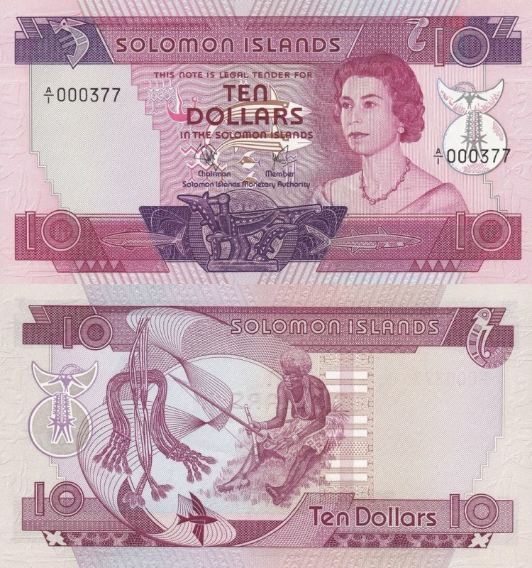 Banknote World Educational > Solomon Islands > 10 Dollars